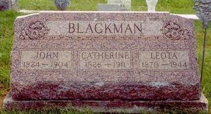 BLACKMAN, CATHARINE - Wayne County, Iowa | CATHARINE BLACKMAN