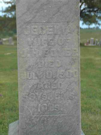 BOYER, CECELIA - Wayne County, Iowa   CECELIA BOYER