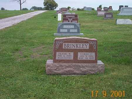 BRINKLEY, FRANK W. - Wayne County, Iowa | FRANK W. BRINKLEY