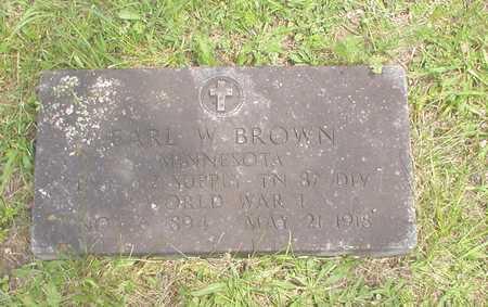 BROWN, EARL - Wayne County, Iowa   EARL BROWN