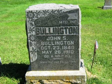 BULLINGTON, JOHN S - Wayne County, Iowa   JOHN S BULLINGTON