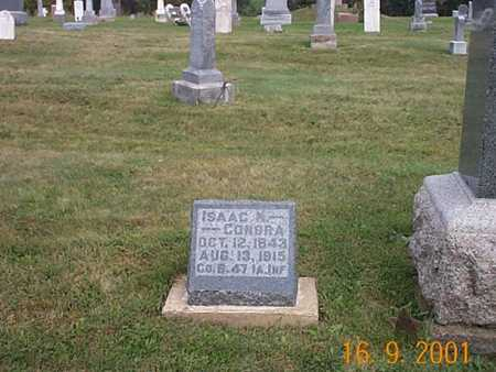CONDRA, ISAAC - Wayne County, Iowa   ISAAC CONDRA
