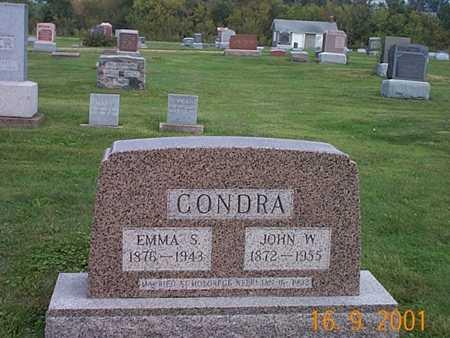 CONDRA, EMMA S. - Wayne County, Iowa | EMMA S. CONDRA