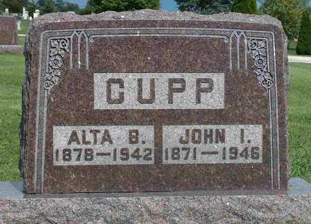 LEAZER CUPP, ALTA BELLE - Wayne County, Iowa | ALTA BELLE LEAZER CUPP