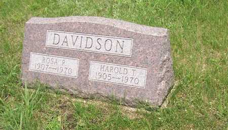 DAVIDSON, ROSA - Wayne County, Iowa | ROSA DAVIDSON