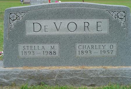DEVORE, CHARLEY O. - Wayne County, Iowa | CHARLEY O. DEVORE