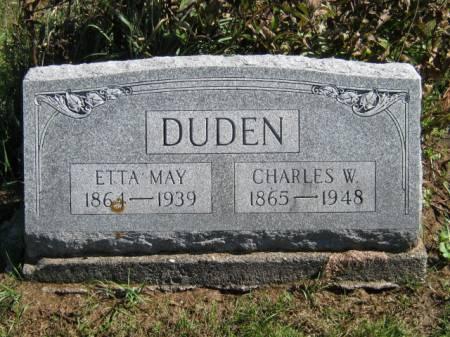 DUDEN, CHARLES W - Wayne County, Iowa | CHARLES W DUDEN