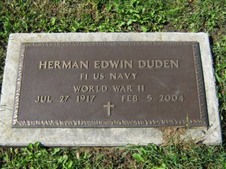 DUDEN, HERMAN E - Wayne County, Iowa | HERMAN E DUDEN