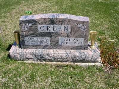 SIMS GREEN, ARWILLDA - Wayne County, Iowa | ARWILLDA SIMS GREEN