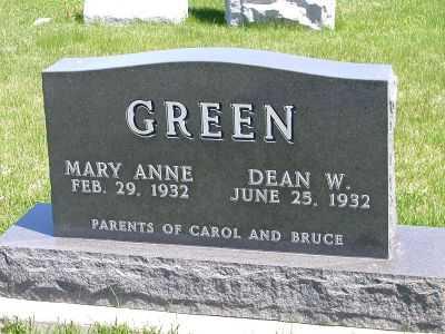 GREEN, BRUCE - Wayne County, Iowa | BRUCE GREEN