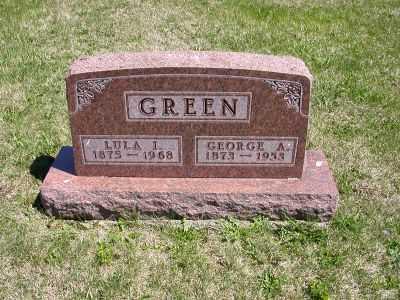 GREEN, LULA L. - Wayne County, Iowa   LULA L. GREEN