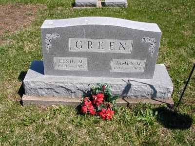 MARTLY GREEN, ELSIE M. - Wayne County, Iowa | ELSIE M. MARTLY GREEN