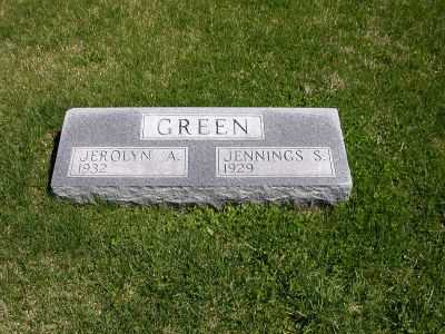 GREEN, JEROLYN A. - Wayne County, Iowa | JEROLYN A. GREEN