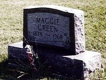 GREEN, MAGGIE - Wayne County, Iowa | MAGGIE GREEN