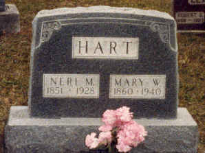 WELLS HART, MARY - Wayne County, Iowa | MARY WELLS HART