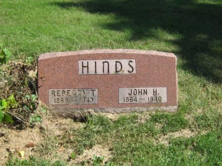 HINDS, JOHN H - Wayne County, Iowa | JOHN H HINDS