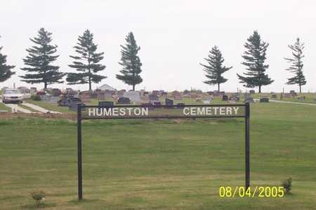 HUMESTON, CEMETERY - Wayne County, Iowa | CEMETERY HUMESTON
