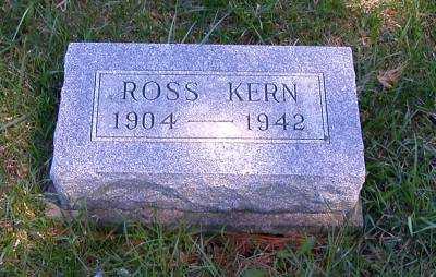 KERN, ROSS - Wayne County, Iowa | ROSS KERN