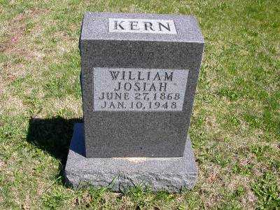 KERN, WILLIAM JOSIAH - Wayne County, Iowa | WILLIAM JOSIAH KERN