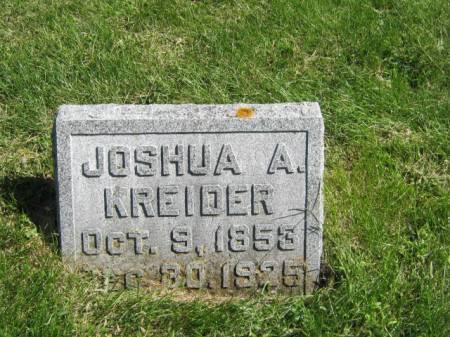 KREIDER, JOSHUA A - Wayne County, Iowa | JOSHUA A KREIDER