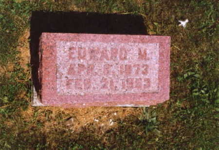 LEAZER, EDWARD MILTON - Wayne County, Iowa | EDWARD MILTON LEAZER