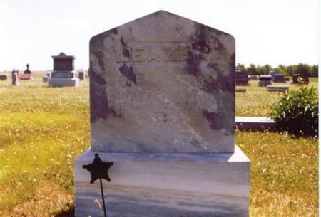 LEAZER, JOHN WILLIAM - Wayne County, Iowa | JOHN WILLIAM LEAZER