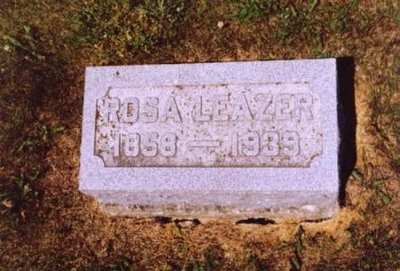 LEAZER, ROSA - Wayne County, Iowa | ROSA LEAZER
