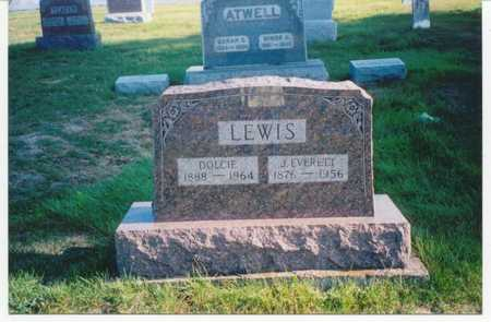 EVERETTE LEWIS, JAMES - Wayne County, Iowa | JAMES EVERETTE LEWIS