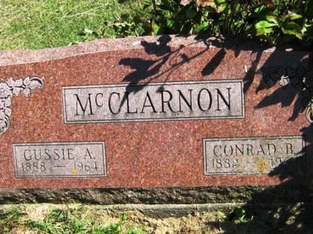 MCCLARNON, GUSSIE A - Wayne County, Iowa | GUSSIE A MCCLARNON