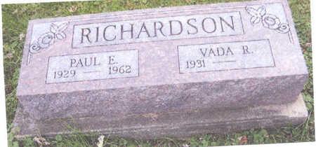 RICHARDSON, PAUL EVERETT - Wayne County, Iowa | PAUL EVERETT RICHARDSON