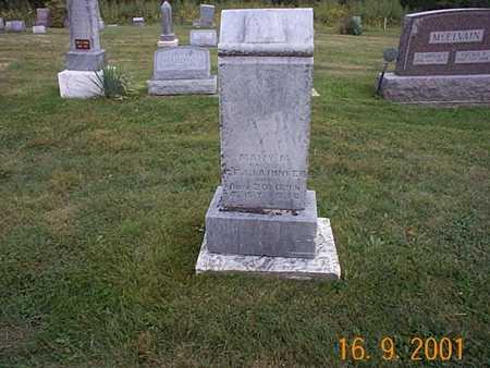 RINKER, MARY M. - Wayne County, Iowa | MARY M. RINKER