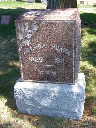 RUARK, FRANCIS - Wayne County, Iowa | FRANCIS RUARK