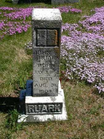 RUARK, JOHN - Wayne County, Iowa | JOHN RUARK