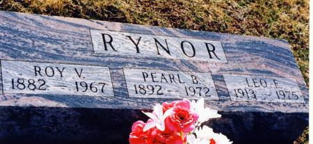 RYNOR, ROY V - Wayne County, Iowa | ROY V RYNOR