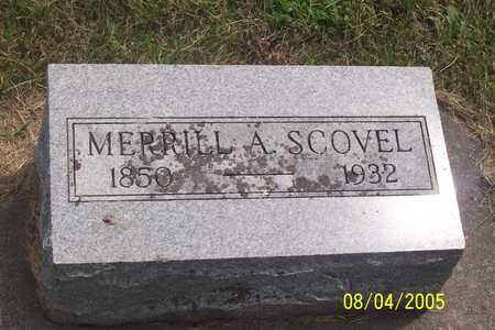 SCOVEL, MERRILL - Wayne County, Iowa | MERRILL SCOVEL