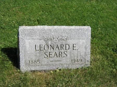 SEARS, LEONARD E - Wayne County, Iowa | LEONARD E SEARS