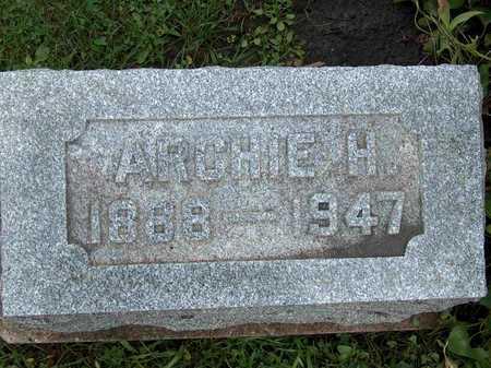 SECREST, ARCHIE H. - Wayne County, Iowa   ARCHIE H. SECREST