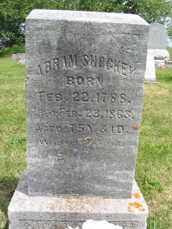 SHOCKEY, ABRAM - Wayne County, Iowa | ABRAM SHOCKEY