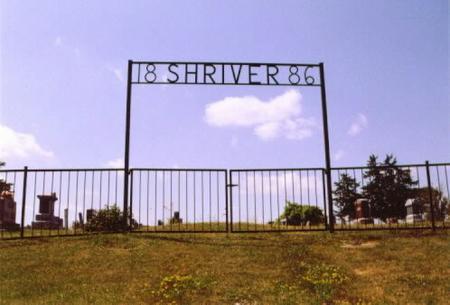 SHRIVER, CEMETERY - Wayne County, Iowa   CEMETERY SHRIVER