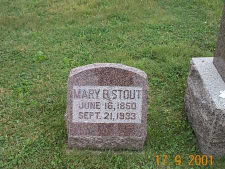 BRINKLEY STOUT, MARY B. - Wayne County, Iowa | MARY B. BRINKLEY STOUT