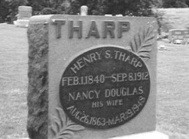 THARP, HENRY S. AND NANCY DOUGLAS - Wayne County, Iowa | HENRY S. AND NANCY DOUGLAS THARP
