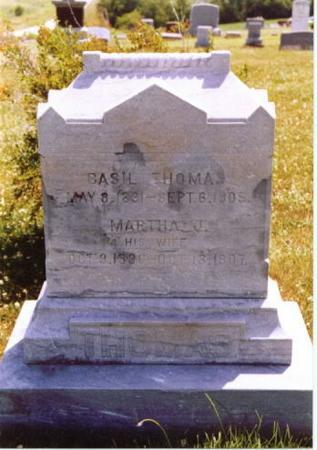 THOMAS, MARTHA J. - Wayne County, Iowa | MARTHA J. THOMAS