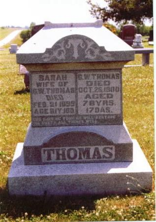 THOMAS, GEORGE WASHINGTON - Wayne County, Iowa | GEORGE WASHINGTON THOMAS