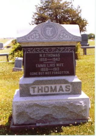 MORRISON TUGGLE THOMAS, EMMA LINDA - Wayne County, Iowa   EMMA LINDA MORRISON TUGGLE THOMAS