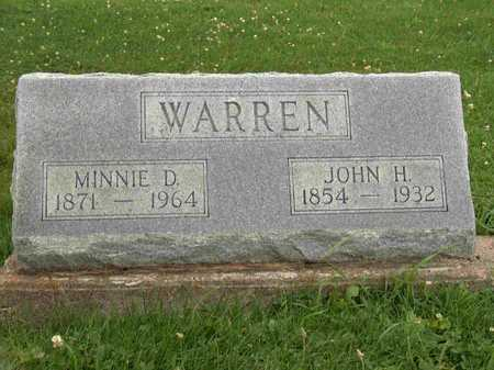 WARREN, JOHN H. - Wayne County, Iowa | JOHN H. WARREN