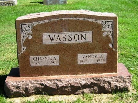 AUSTIN WASSON, CHASSIE E - Wayne County, Iowa   CHASSIE E AUSTIN WASSON