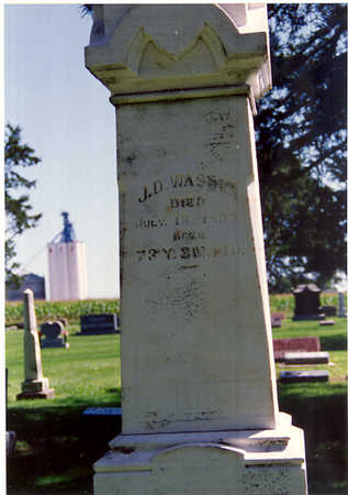 WASSON, JOSEPH DELP (J.D.) - Wayne County, Iowa | JOSEPH DELP (J.D.) WASSON