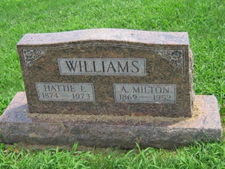 WILLIAMS, HATTIE L - Wayne County, Iowa | HATTIE L WILLIAMS