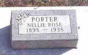 PORTER, NELLIE ROSE - Webster County, Iowa | NELLIE ROSE PORTER