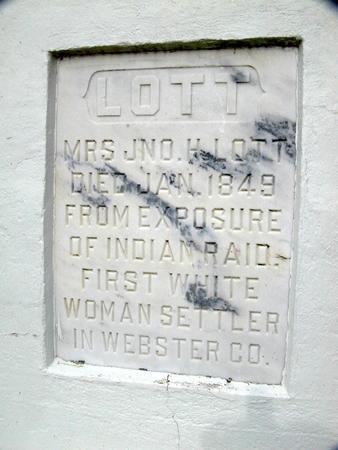 LOTT, MRS. JNO. H. - Webster County, Iowa   MRS. JNO. H. LOTT